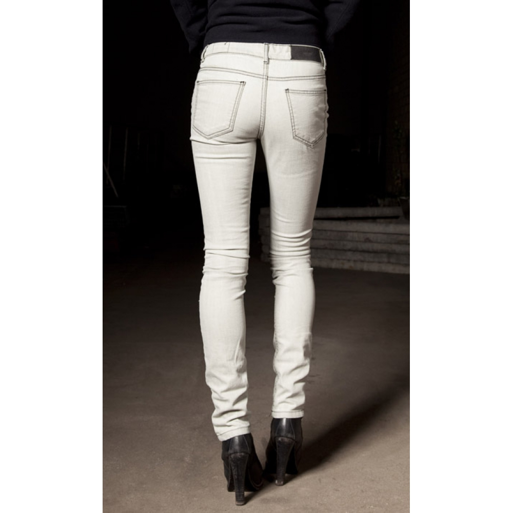Bleach Jeans White - Jeans Am